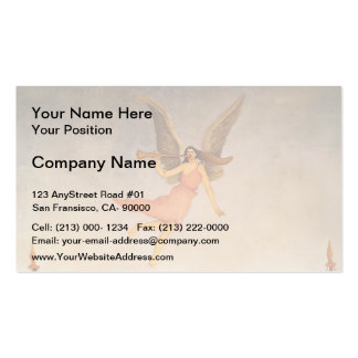 Henri Rousseau- Liberty Inviting to Exhibition Pack Of Standard Business Cards