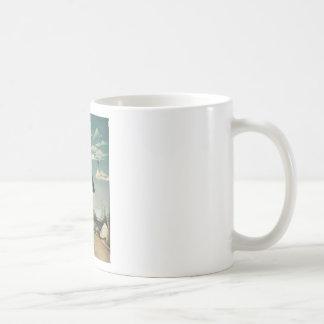 Henri Rousseau - Myself Basic White Mug