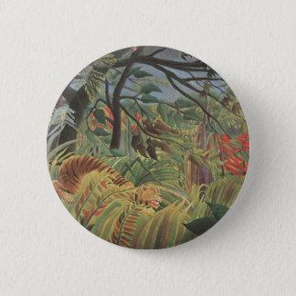 Henri Rousseau Painting 6 Cm Round Badge