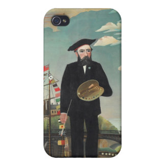 Henri Rousseau Painting Cover For iPhone 4