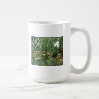 Henri Rousseau Painting Mug