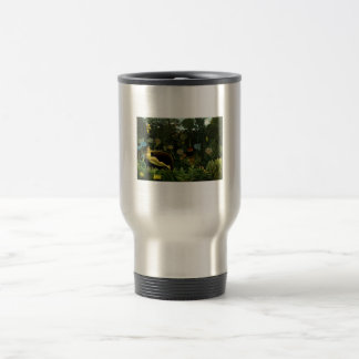 Henri Rousseau Painting Travel Mug