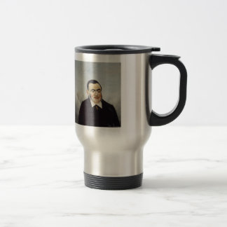 Henri Rousseau- Portrait of a Man Stainless Steel Travel Mug