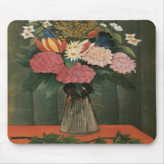 Henri Rousseau s Flowers in a Vase 1909 Mouse Pads