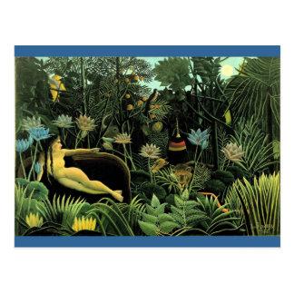 Henri Rousseau s The Dream 1910 Post Cards
