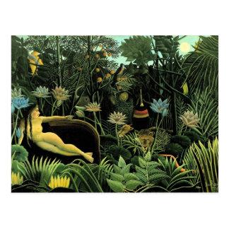 Henri Rousseau s The Dream 1910 Postcards