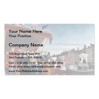 Henri Rousseau-Salution to Republic for Peace Pack Of Standard Business Cards