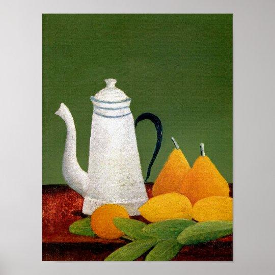 Henri Rousseau - Still Life with Fruit &