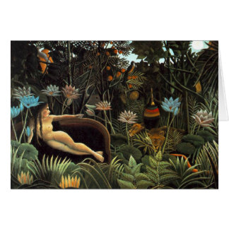 Henri Rousseau - The Dream Card