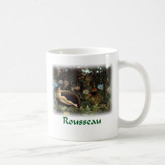 Henri Rousseau - The Dream Basic White Mug