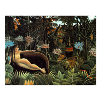 Henri Rousseau - The Dream Postcard