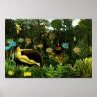 Henri Rousseau The Dream Poster