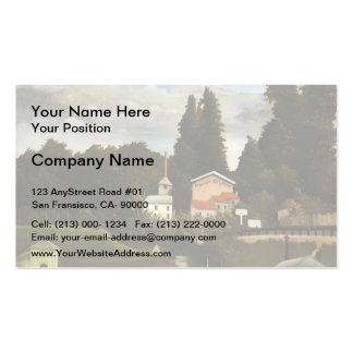 Henri Rousseau- the Mill at Alfor Business Card