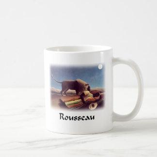 Henri Rousseau - The Sleeping Gypsy Basic White Mug
