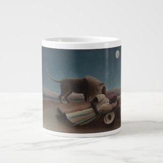 Henri Rousseau - The Sleeping Gypsy Jumbo Mug