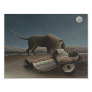 Henri Rousseau - The Sleeping Gypsy Photograph