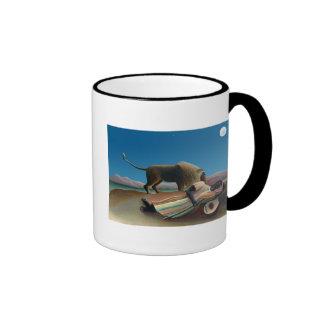 Henri Rousseau - The Sleeping Gypsy Ringer Mug