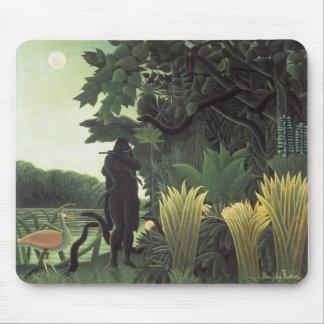Henri Rousseau - The Snake Charmer Mouse Pad
