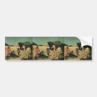 Henri Rousseau- The Tiger Hunt Bumper Stickers