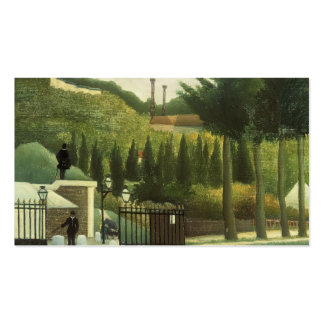 Henri Rousseau- The Toll House Business Card