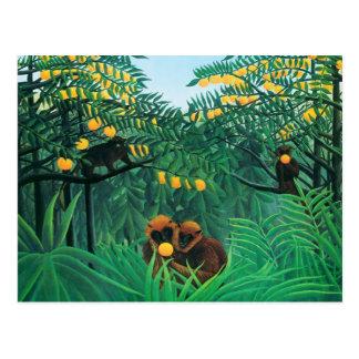 Henri Rousseau The Tropics Postcard