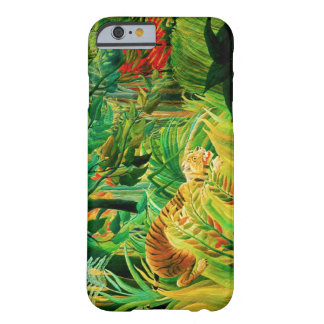 Henri Rousseau Tiger in a Tropical Storm Barely There iPhone 6 Case