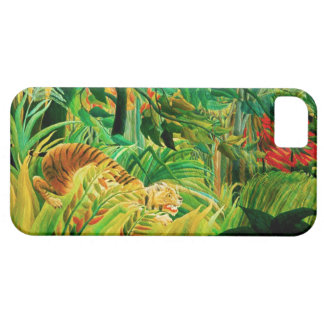 Henri Rousseau Tiger in a Tropical Storm Case For The iPhone 5