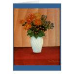 Henri Rousseau's Bouquet of Flowers (circa 1900) Greeting Card