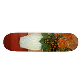 Henri Rousseau's Bouquet of Flowers (circa 1900) Skateboard Deck