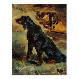 Henri Toulouse-Lautrec- Dun, a Gordon Setter Postcard