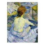 Henri Toulouse Lautrec - The Bath GC Post Card