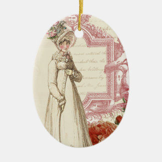 Henrietta Ceramic Oval Decoration