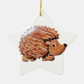 Henrietta Hedgehog Christmas Ornament