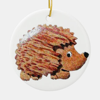 Henrietta Hedgehog Christmas Ornament