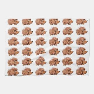 Henrietta Hedgehog Tea Towel