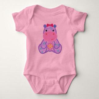 Henrietta Hippo Romper Baby Shower Gift Baby Bodysuit