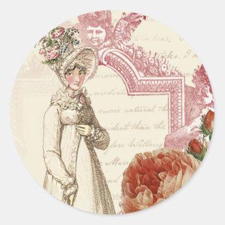 Henrietta Round Sticker