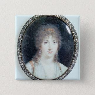 Henriette Lucy Dillon (1770-1853) Marquise de la T 15 Cm Square Badge