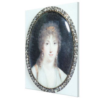Henriette Lucy Dillon (1770-1853) Marquise de la T Canvas Print