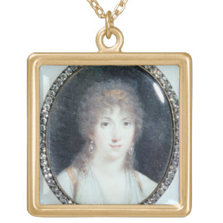 Henriette Lucy Dillon (1770-1853) Marquise de la T Gold Plated Necklace