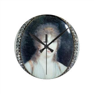 Henriette Lucy Dillon (1770-1853) Marquise de la T Round Clock