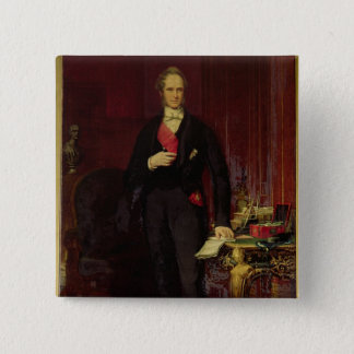 Henry, 3rd Viscount Palmerston 15 Cm Square Badge