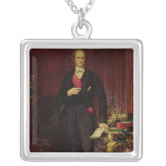 Henry, 3rd Viscount Palmerston Silver Plated Necklace