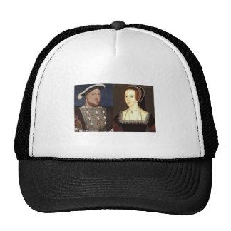 Henry 8th and Anne Boleyn Mesh Hats