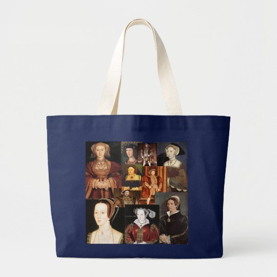 Henry 8th and his six wives large tote
