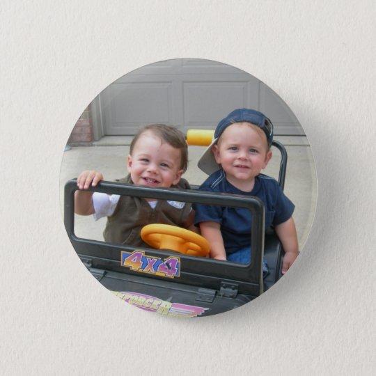 Henry and Eli 6 Cm Round Badge