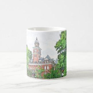 Henry County Courthouse_ Paris, TN USA_Mug Basic White Mug