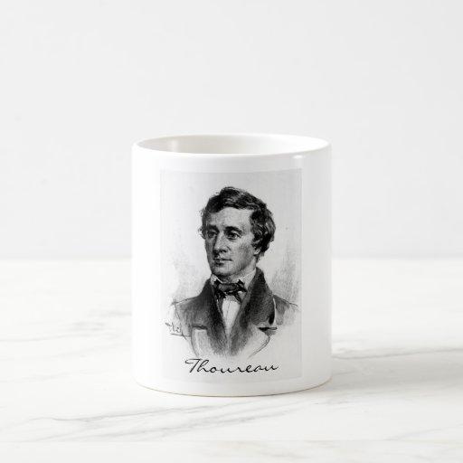 Henry David Thoreau Basic White Mug