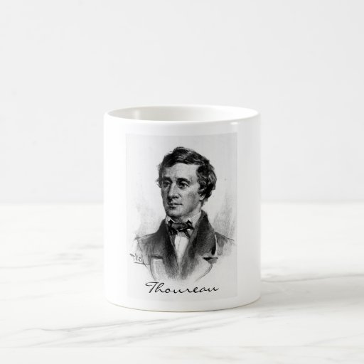 Henry David Thoreau Coffee Mug