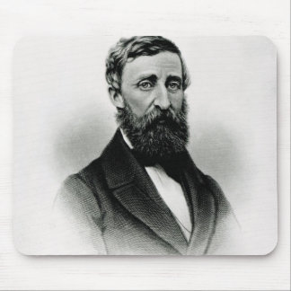 Henry David Thoreau Mouse Mat